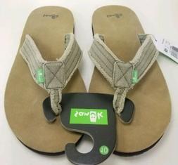 Sanuk Fraid Not Sandals - Men's - 10 / Olive