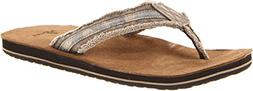 Sanuk Men's Fraid So Flip Flop,Camo,12 M US