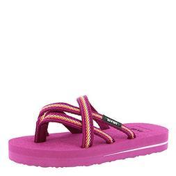 Teva Girls' K Olowahu Flip-Flop, Lindi Boysenberry, 12 M US