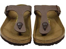 Birkenstock Women's GIzeh Thong Sandal, Mocha, 40 M EU/9-9.5