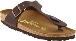 Birkenstock Gizeh Oiled Leather Sandal - Women's Habana Oile