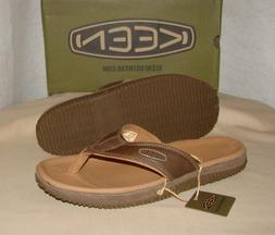 KEEN HILO FLIP Leather Sandals  Men's 10