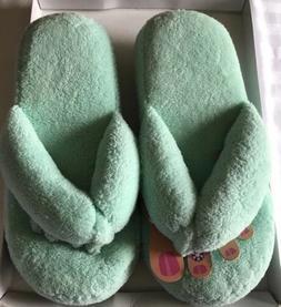 Indoor Slippers for Women Memory Foam Spa Toe Spacer Flip Fl