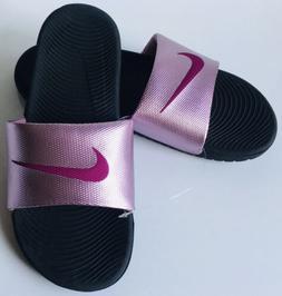 Nike Kawa Slides Womens Flip Flops Sandals Plum Dust/True Be