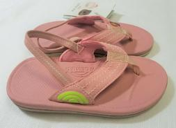 RAINBOW SANDALS Kid Capes Molded Rubber Sandals - PINK - Gir