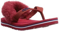 UGG Kids Baby Girl's YIA YIA II  Matador Red Sheepskin Slipp