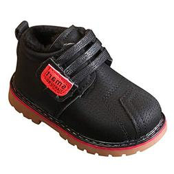 Kids Baby Infant Toddler Girls Boys Winter Warm Shoes Snow B