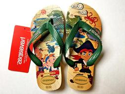 Kids Havaianas Boys 13 /1 YR JAKE AND THE PIRATE Rubber Thon