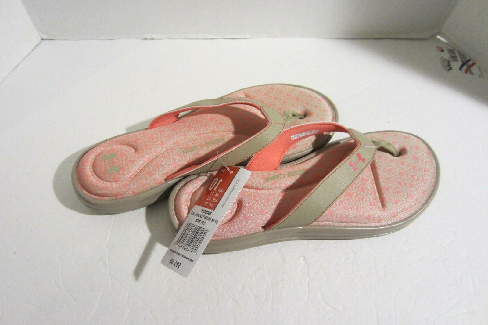 Under Armour Marbella Oval VI, Flip Flops, Sandals,
