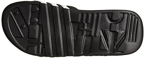 adidas Performance SC Sandal,Black/White/Black,10