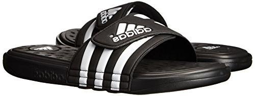 adidas Performance SC Sandal,Black/White/Black,10 M US