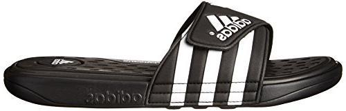 adidas Performance Men's SC Sandal,Black/White/Black,10 M US