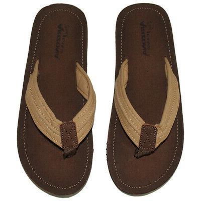 arizona mens flip flops canvas sandals