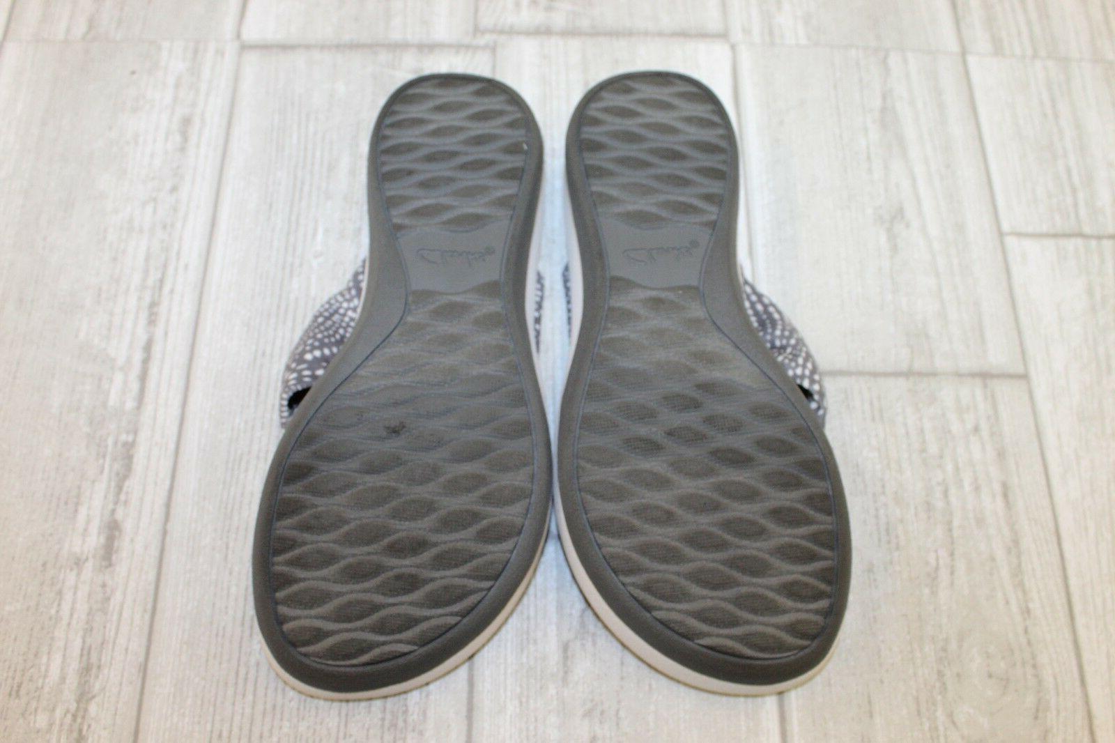 Women's Flip Flop, M Grey