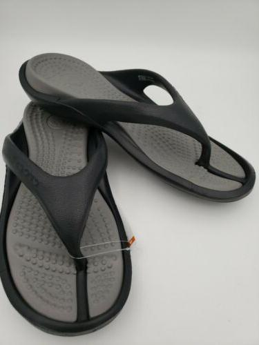Crocs Athens Flip Flops / Sandals, Size: Mens 9 / Womens 11,