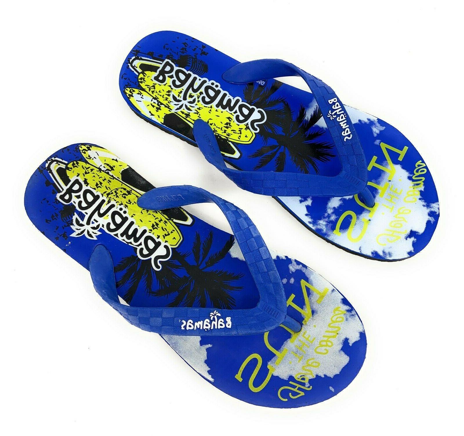 Bahamas Premium Thong Sandals Beach