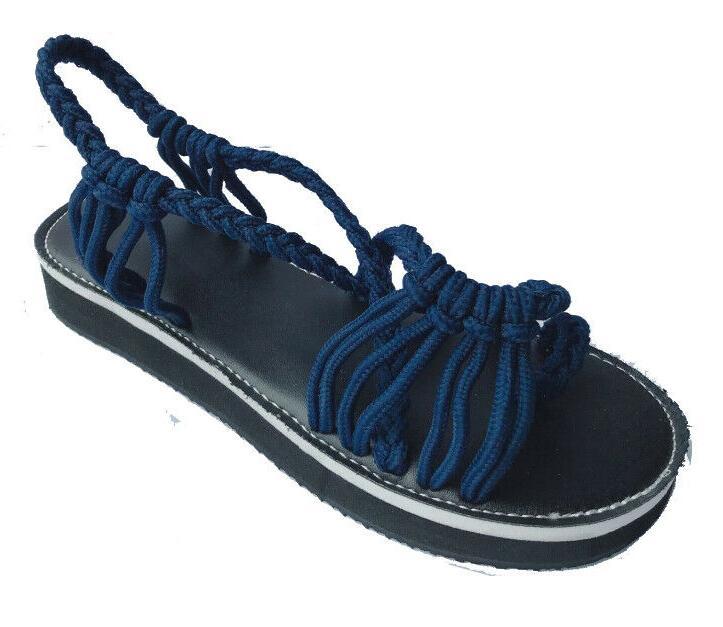 Bohemian Flat Bandages Casual Sandals US