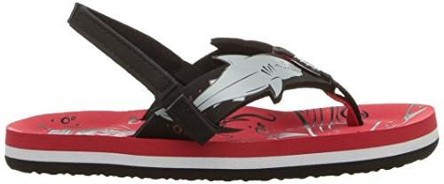 Reef Sandal, red Shark, US Little Kid