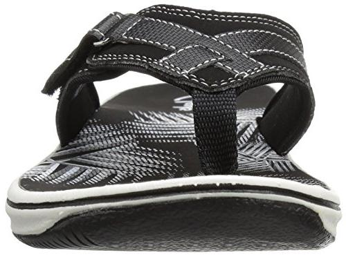 Clarks Flip Flop, New Synthetic,