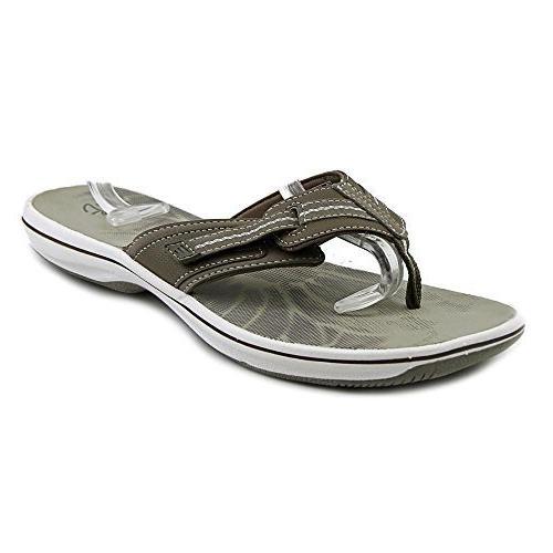 brinkley womens brinkley jazz thong sandal pewter