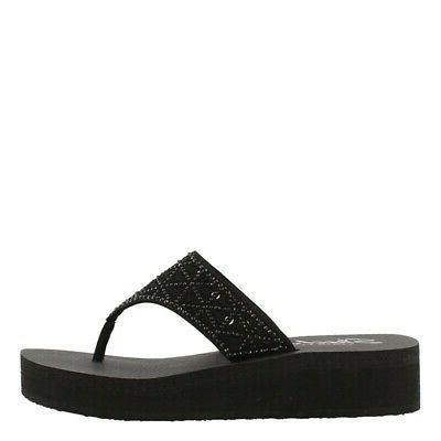 cali vinyasa glass star womens flip flops