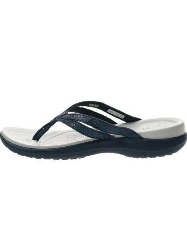 Crocs Strappy Flops Sandals blue