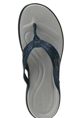 Crocs Capri Strappy Flip size 8
