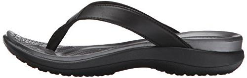 Crocs Women's Capri Flip Flop Sandals 6.0 M