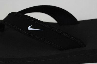 NIKE THONG BLACK/WHITE FLOPS SANDALS SIZES