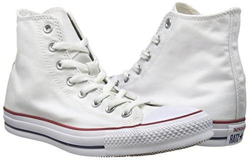 Converse Unisex All Hi White OPT/WHT 7