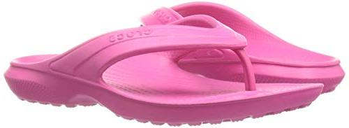 crocs Flip , Pink, M US Toddler