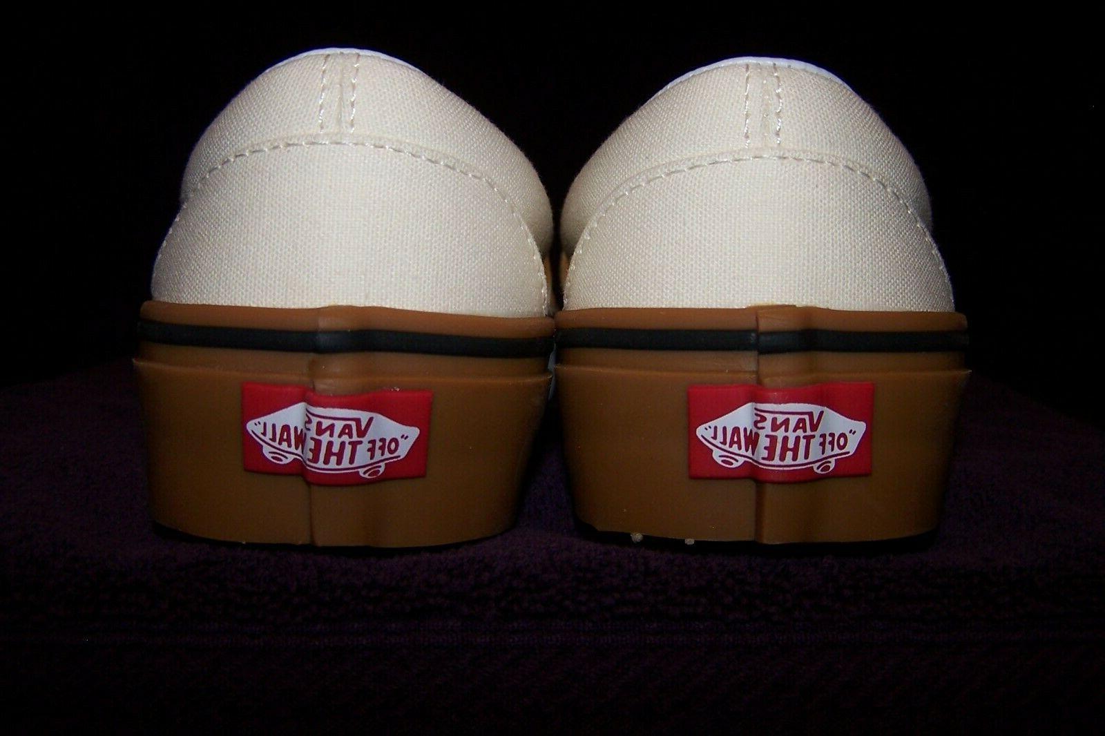 VANS Classic Slip-On Men's Skate Classic White NIB! SWEET!