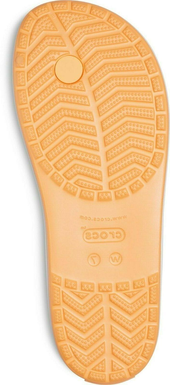 Crocs Crocband Flip - Cantaloupe Size 11