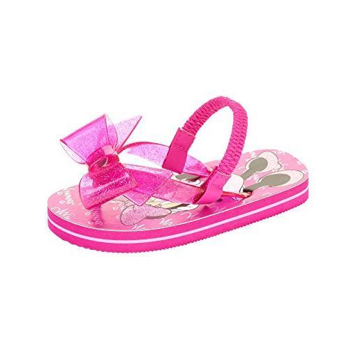 disney minnie mouse toddler little girls flip