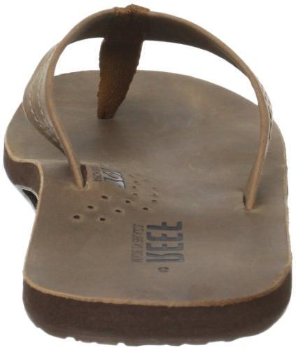 Reef Men's Sandal, Bronze/Brown, 6 US