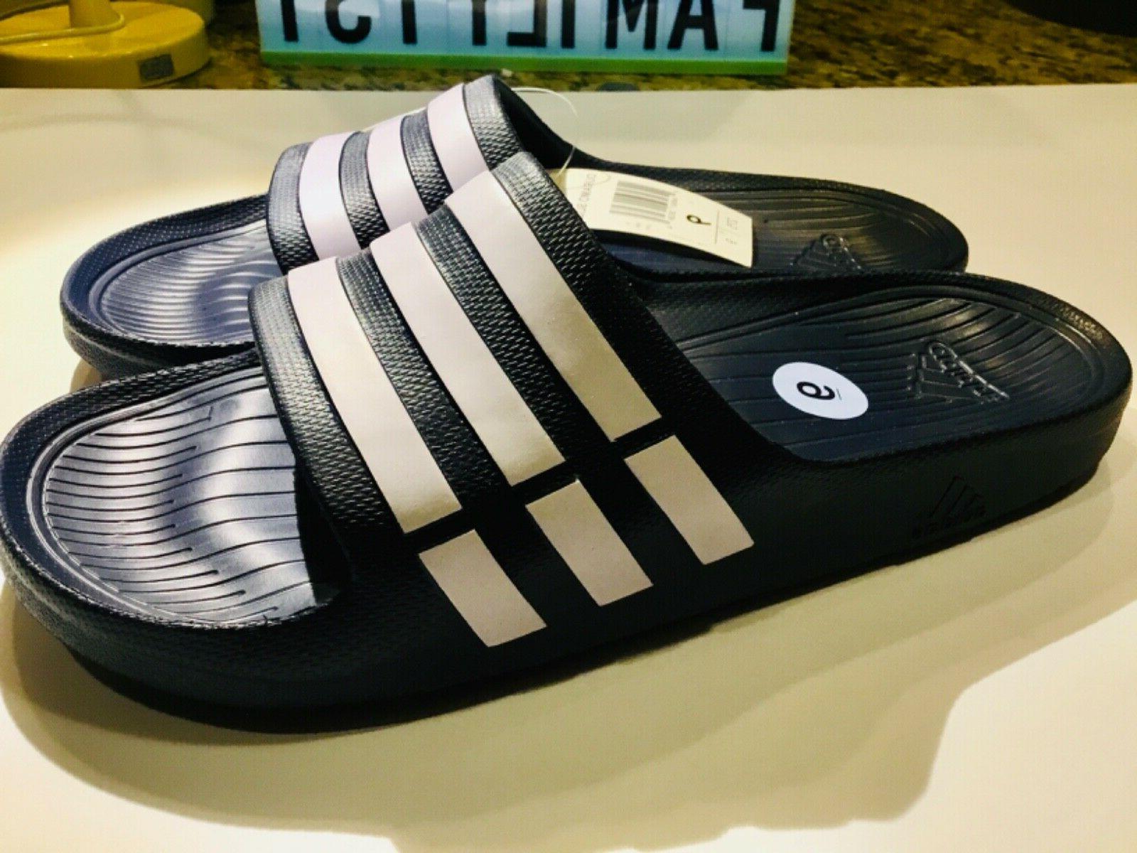 Adidas Duramo Sandals Flip Wear Navy US