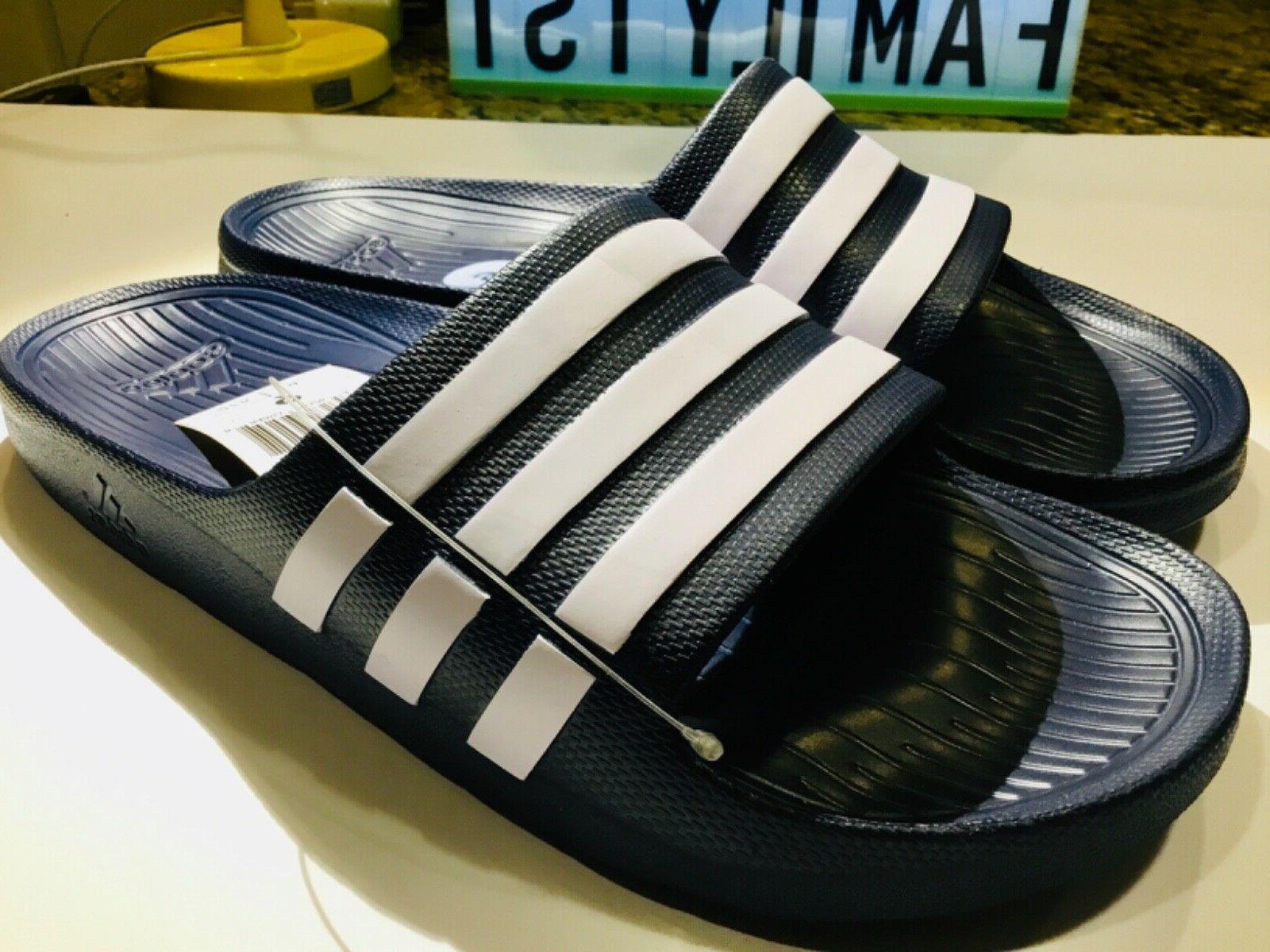 duramo mens slides sandals flip flops beach