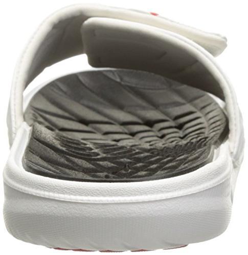 Speedo Rip Sandal, White/Black, 10 US