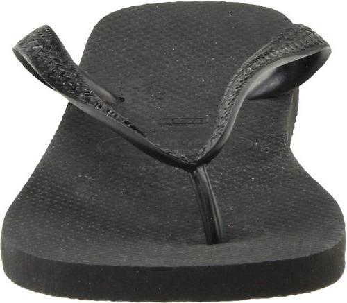 Havaianas Men's Flop,Black,43 BR/11/12
