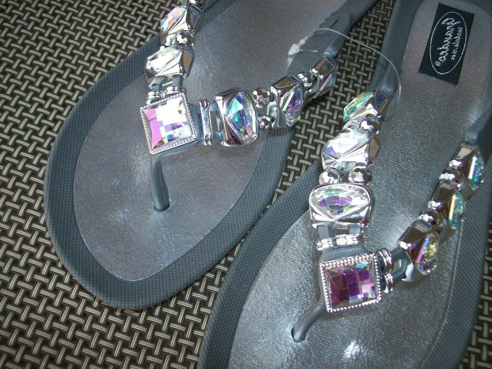 flip flops nwt size 9 by bling