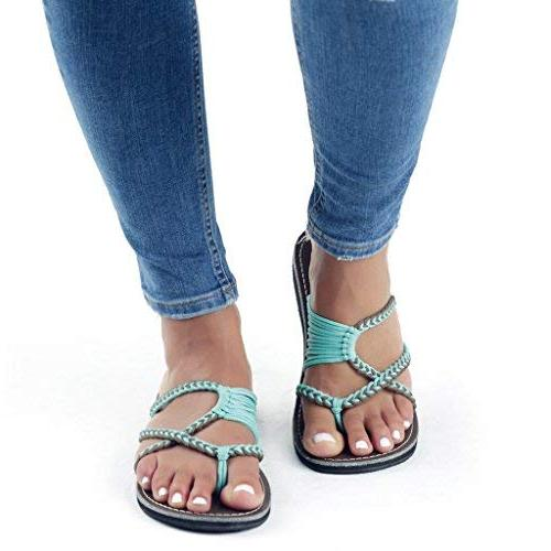 Plaka Flip Sandals for Women Gray
