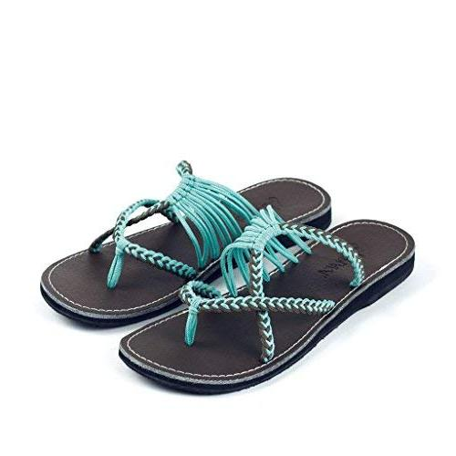 Plaka Slide Sandals Women Gray Oceanside