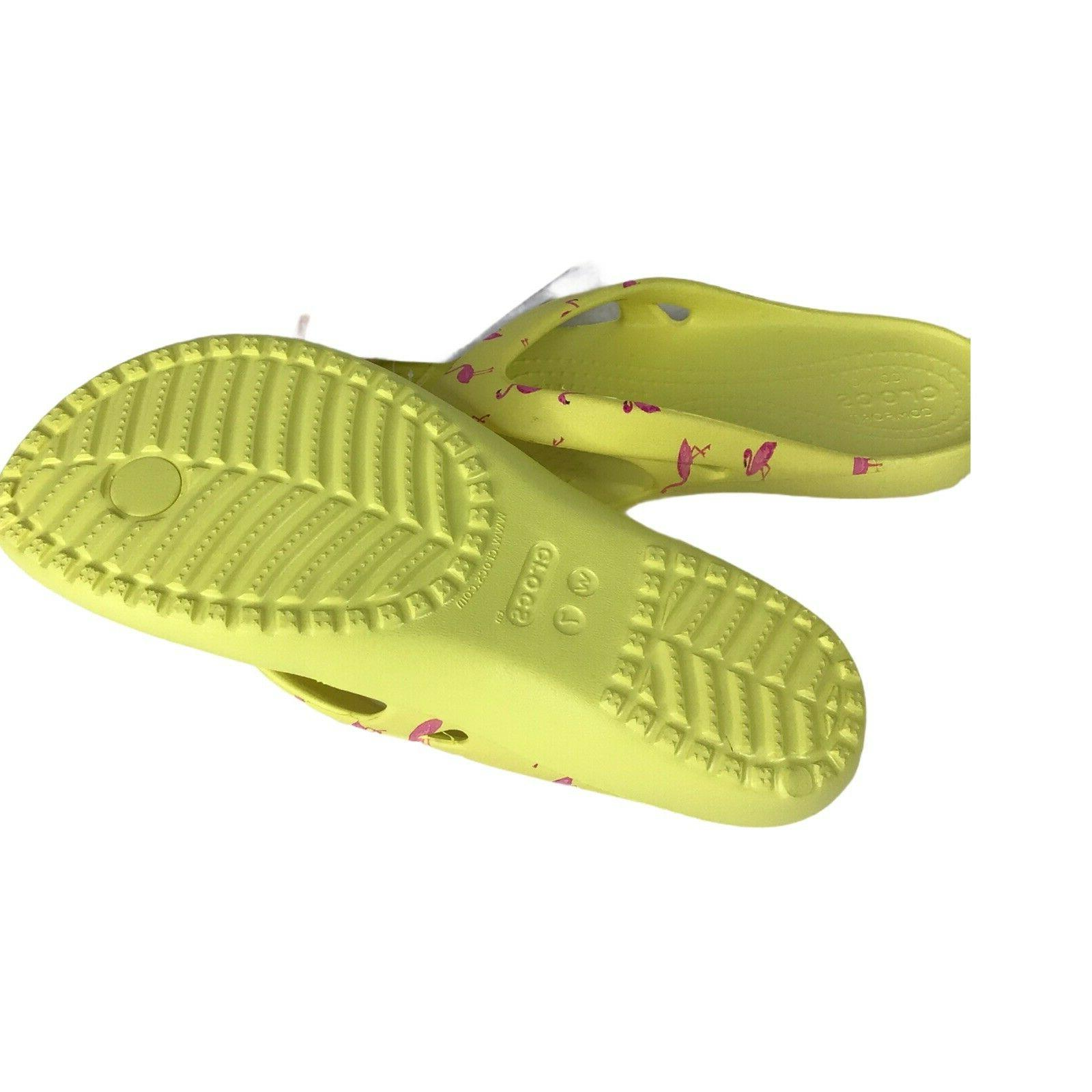 Crocs Graphic Flip w/ Pink