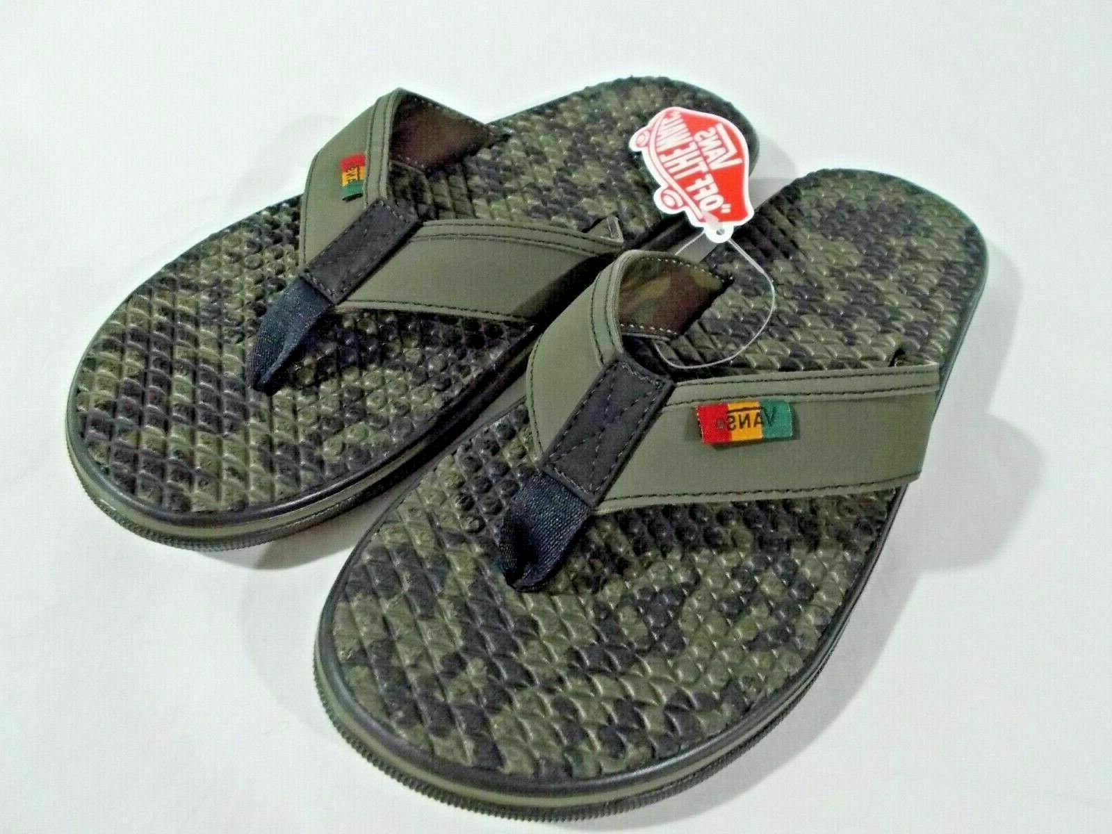 Vans Costa Flip Men's Sz 9-13 Thong Sandal