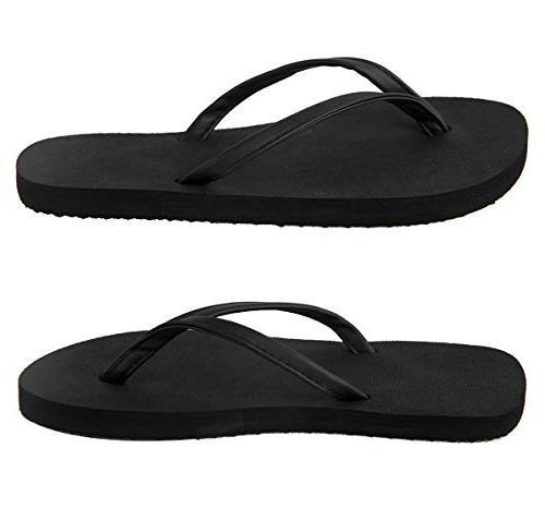 4HOW Flip Sandal M Black