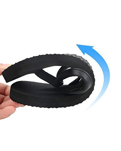 4HOW Flip Sandal Size Black