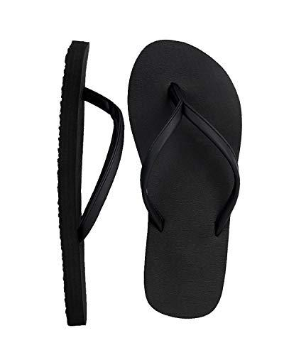 4HOW Lady Sandal Size 8.5 Black