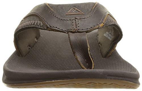 Reef Leather Sandal, Brown, US