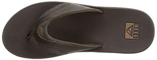 Reef Men's Leather Sandal, US