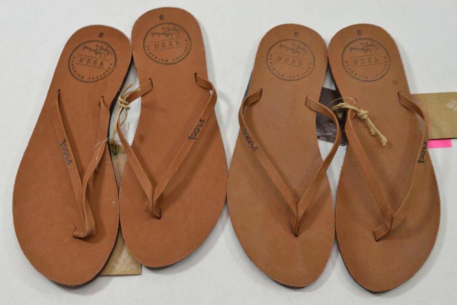 Reef Cocoa Leather Flip Discount